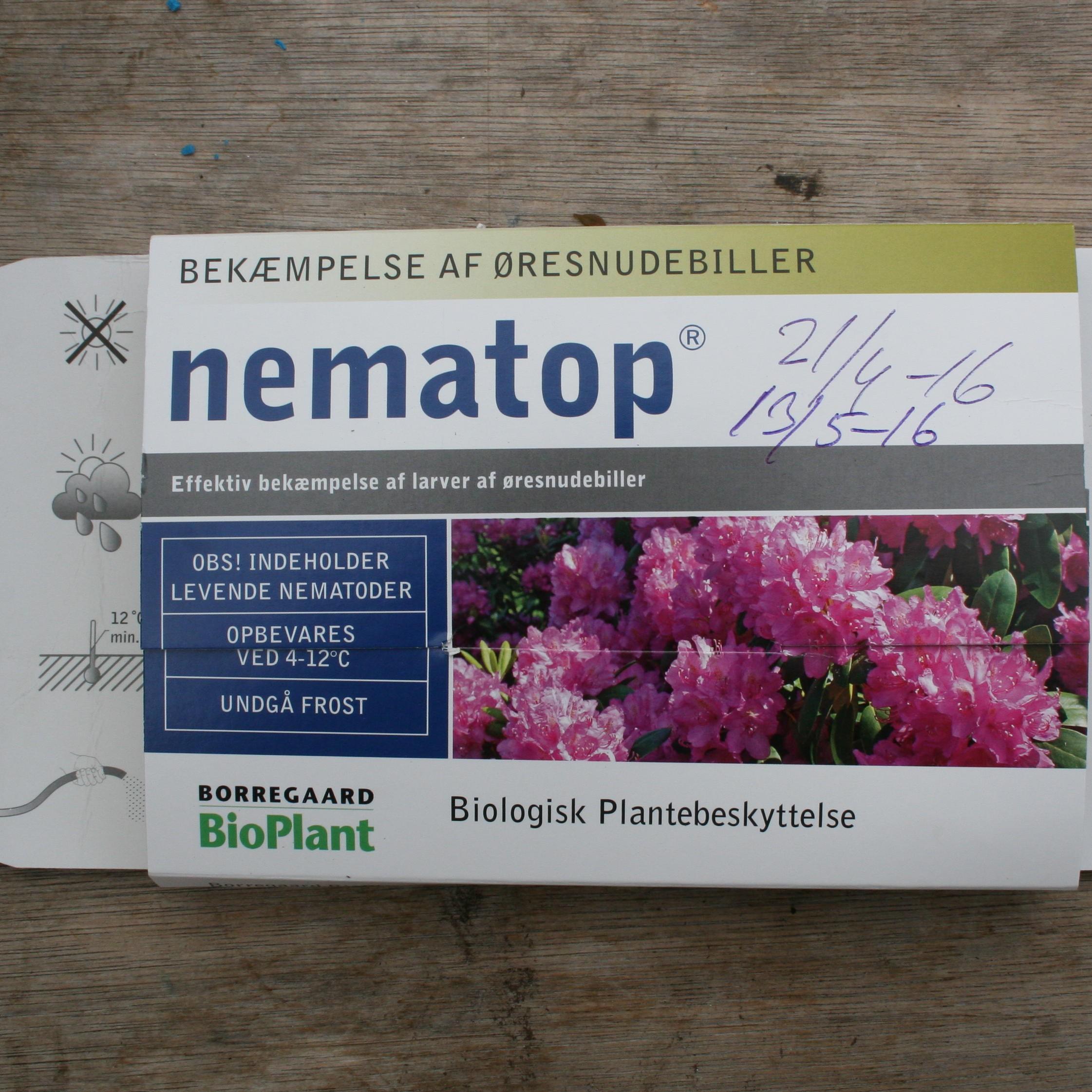 Nematoder    pris/gram