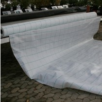 Ukrudtsdug vævet, hvid 330cm pris/lbm